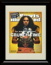 Framed Troy Polamalu Sports Illustrated Autograph Replica Print - Steelers Great
