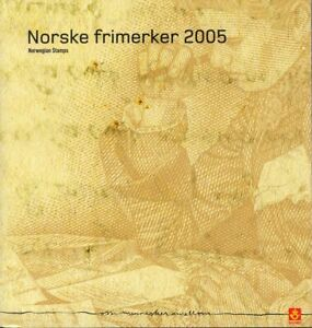 Norway Norwegen Norske Official Year Set Mint MNH Stamps 2005