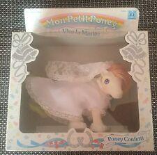 vintage mon petit poney G1 - my little pony - vive la mariée - Poney Confetti