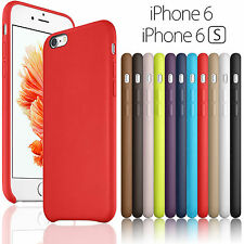 New Luxury Ultra-thin PU Leather Back Case Cover For Apple iPhone 7 6 6s Plus 5s