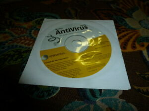 Norton Antivirus 2004 Vintage For Windows  98,2000,XP,ME  Symantec Norton CD