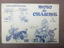 DI SANO plaque d'imprimerie Moto de charme couverture PW78
