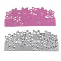 Christmas Craft Metal Cutting Dies Xmas DIY Postcards 3D Stamp Flower Corner*1