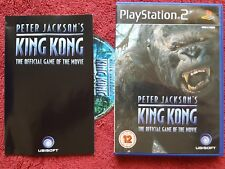 PETER JACKSON'S KING KONG ORIGINAL BLACK LABEL SONY PLAYSTATION 2 PS2 PAL