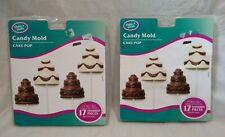 (2) Make n Mold Cake Pop Chocolate/Candy Mold-Plastic Tray-8 Pieces-#0247