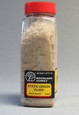 WOODLAND SCENICS WILD HONEY STATIC GRASS FLOCK o gauge train land WDS 631 NEW