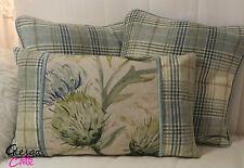 Tartan Rectangular 100% Wool Decorative Cushions