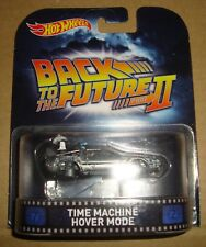 HOT WHEELS RETRO ENTERTERTAINMENT BACK TO THE FUTURE TIME MACHINE HOVER MODE