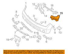 NISSAN OEM 08-12 Pathfinder FRONT BUMPER-Reinforcement Bracket Left 62223ZS01A