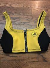 Vintage 80's Body Glove Neoprene Bikini Top Bathing Suit - 9/10