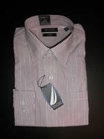 NWT $69 Nautica Men's Classic Fit Traveler L/S Dress Shirt Non-Iron 16 34/35