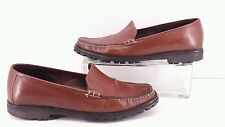 Cole Haan Country Womens Brown Leather Loafers.  Size 8. 5 B