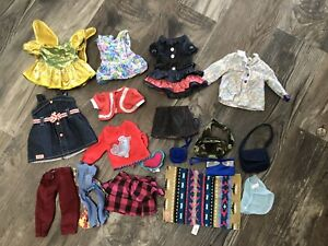 Our Generation And American Girl Doll Clothes Lot