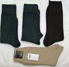 S92 - Gold Toe Socks Mixed Dress 4 Pack - Gray - Bown - Beige 10-13