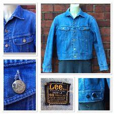 d9109d276254fd ORIGINALE 1960s VINTAGE USA Lee Riders 101J 2 Tasche Denim Giacca Mods Skins