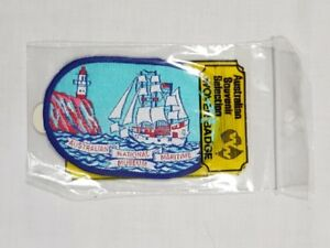 Australian National Maritime Museum, Collectable Souvenir Sew on Patch (NOS)