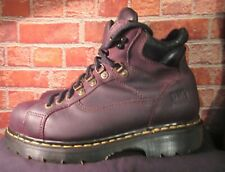 SIZE10 Dr. Martens Industrial Air Wair Steel Toe Leather Boot ANSI Z41 PT91