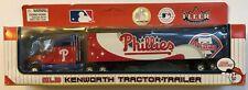 Philadelphia Phillies 1:80 Fleer MLB Kenworth Tractor Trailer BRAND NEW