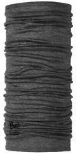 Buff Lightweight Merino Wool Multifunctional Headwear, FACE MOUTH GREY USA
