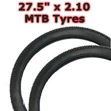 "2x 27.5"" x2.10 (52-584)  Mountain Downhill Hybrid MTB Bike Bicycle Tyre"