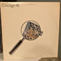"CHICAGO - Chicago 16 (Full Moon Records 23689) - 12"" Vinyl Record LP - EX"