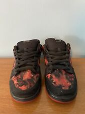 "Nike Dunk Low SB PUSHEAD ""Denimhead"" Custom Made Of Levi SB Size 11 Authentic"