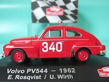 VOLVO PV544 340, 1962 Monte Carlo Rally 1:43 Scale ATLAS DieCast Model, Rosqvist