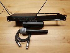 Samson Stage 55 SR55 Ch26 Wireless Receiver w/ HT5/Q7 Handheld Microphone