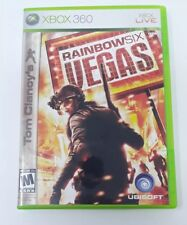 Tom Clancy's Rainbow Six Vegas with booklet  XBOX 360 LIVE Game