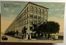 NATIONAL CASH REGISTER CO.  K STREET POSTCARD DAYTON OHIO  EARLY 1900 #1162a