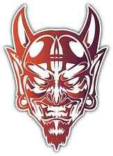 "Devil Satan Face Evil Demon Lucifer 666 Car Bumper Vinyl Sticker Decal 3.5""X5"""