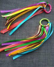 X1 Sensory Ribbon Linkie Ring SEN. Link Ring ribbon Baby Toy Girl Boy dance