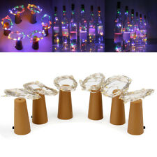 6Pcs 1.5M 15LEDs Battery Powered 4-Color LED String Light Copper Wire Decorative