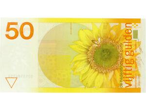 Netherlands - 50 Gulden Banknote - 'Zonnebloem' - 1982 - UNC