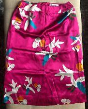 Chanel 100% Silk Printed Pencil Skirt Sz 34/S