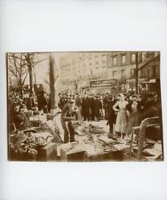 France, Paris, Brocante vers 1900 Vintage Print Tirage citrate  9x12  Circ
