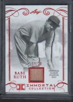 2017 LEAF IMMORTAL COLLECTION BABE RUTH YANKEE STADIUM SEAT 19/20
