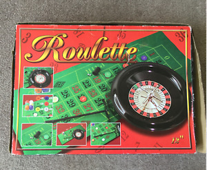 WH SMITH Cathay 30cm Roulette Set Complete ~ ISO Certified