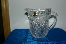 Oneida Royal Crystal Rock Dorico Lead Crystal Pitcher made in Italy