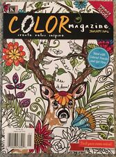 Kappa Kappa Color Magazine Create Relax Inspire Jan 2016 FREE SHIPPING!