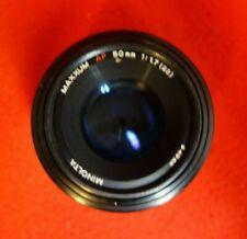 Minolta Maxxum AF 50 mm 1:1.7 (22) Lens