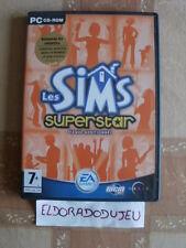 ELDORADODUJEU >>> LES SIMS SUPERSTAR Pour PC Français JUSTE LE CD 2 ET PAS LE 1