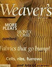 Weaver's magazine 37: fabrics that go bump part 2