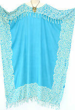 New NIA Buttersoft Kaftan Dress One Size Plus Leopard Boho Pink Blue Green Black