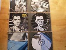 Peter Gabriel [3 PICTURE CD Alben] I 1977 + II 1978 + 3 III 1980 / Solsbury Hill