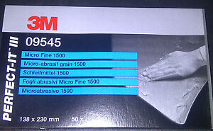 3M WET OR DRY PAPER  1500 GRIT *HIGH QUALITY*