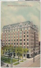 1912 CLARKSBURG West Virginia W VA Postcard GOFF BUILDING
