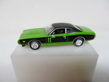 Ertl Loose Green 1971 Dodge Charger w/ Rubber Tires