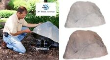 Artificial Rock Cover Enclosure for Pond Compressors Septic Pumps Aeration Motor