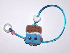 Children's Hearing Aid SAFTY LEASH RETAINER CLIP for 1 sided H.A...CHOCOLATE BAR
